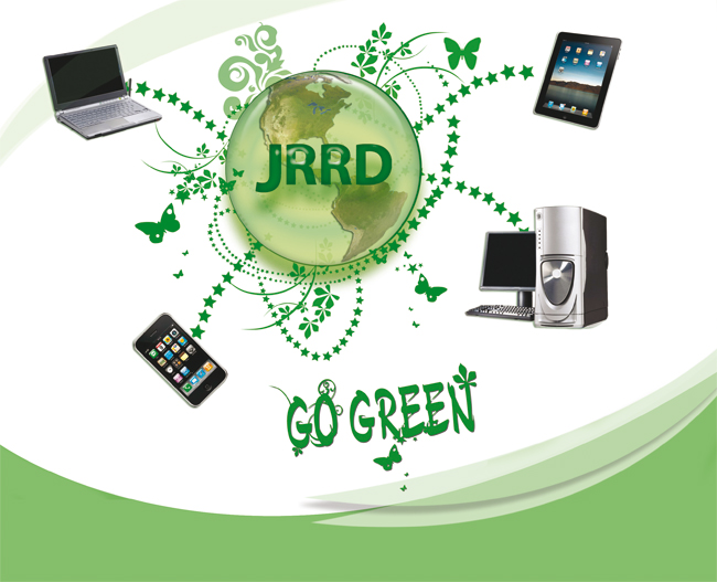 go green research paper Plastic is a popular, useful material but we use a lot of it we now use about 20 times more plastic than we did 50 years ago therefore, it is important that we.