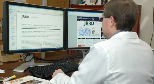 Submit Research to JRRD
