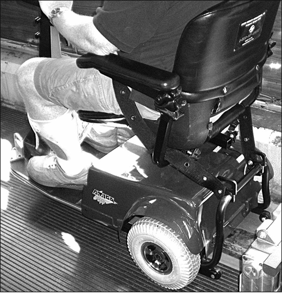 User Evaluation Of Three Wheelchair Securement Systems In