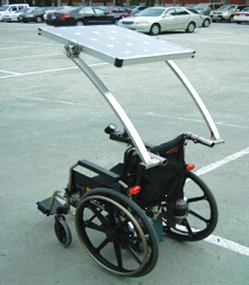 Design And Development Of Solar Power Assisted Manual Electric Lg Led 29 Mt 47 A Figure 3 Photograph Prototype Wheelchair